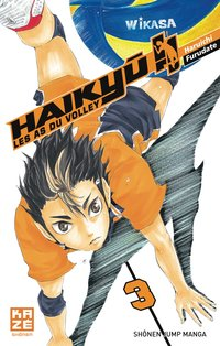Haikyu !! - Les as du volley - Tome 3