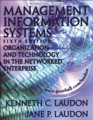 Management Information System Book By Kenneth C Laudon