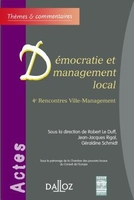 Démocratie et management local