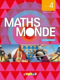 Maths Monde ; Cycle 4 ; 2 Volumes