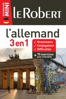 3 En 1 ; Le Robert ; Mini ; L'Allemand