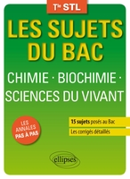 Chimie, biochimie, sciences du vivant