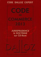 Code de commerce 2013