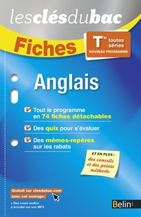 Fiches anglais - terminale