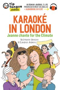 Karaoké in london - jeanne chante for the climate