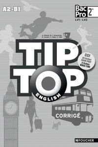 Tip-top english seconde bac pro corrigé