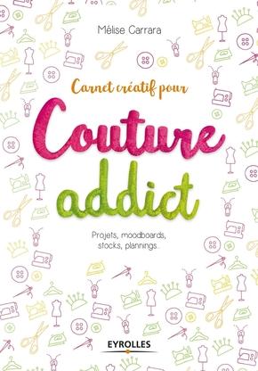 M.Carrara- Carnet créatif pour couture addict