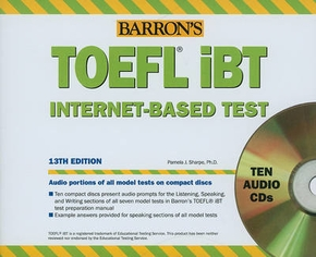 TOEFL IBT (10 AUDIO CDS) 13TH
