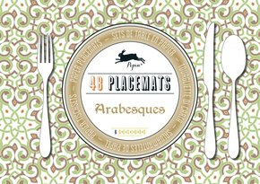 Arabesques - 48 sets de table en papier