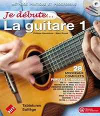 Je debute la guitare (+ cd)