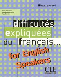 Difficultés du français for english speakers