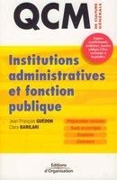 J.-F.Guédon, C.Barilari - Institutions administratives et fonction publique