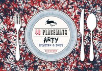 Arty Splatters and Drips - 48 sets de table en papier