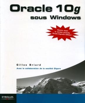 Gilles Briard, Société Digora- Oracle 10g sous windows