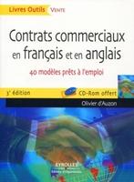 O.D'Auzon - Contrats commerciaux en français et en anglais