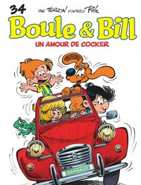Boule et Bill - Tome 34 - Un amour de cocker