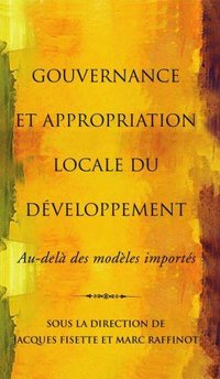 Gouvernance et appropriation locale du developpement