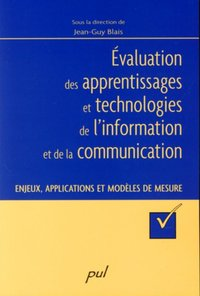 Evaluation des apprentissages et technologies de l'information et de la communication