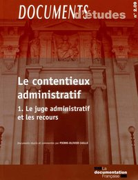 Le contentieux administratif - Tome 1, n° 2.09