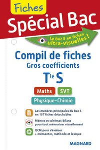 Compil de fiches gros coefficients- Terminale S