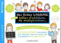 Mes fiches larousse, spéciales additions, multiplications, ...