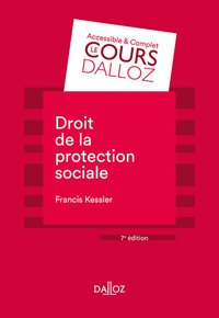 Droit de la protection sociale - 7e ed.