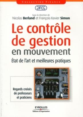 DFCG, Nicolas Berland, François-Xavier Simon- Le contrôle de gestion en mouvement