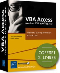 VBA Access (versions 2019 et Microsoft 365)