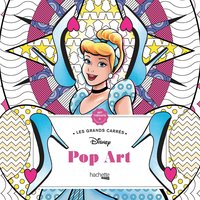 Grands carrés disney pop art