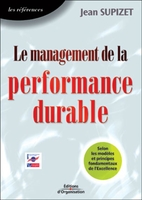 Jean Supizet - Le management de la performance durable