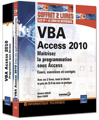 Coffret - VBA Access 2010