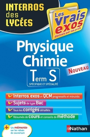 Physique Chimie, terminale S