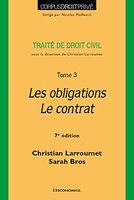 Les obligations - Le contrat
