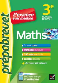 L'examen avec mention - Maths 3e