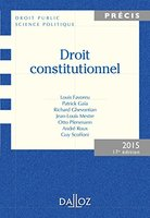 Droit constitutionnel - 2015