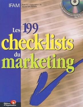 IFAM, Michel Baumann- Les 199 check-lists du marketing