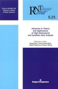 Advances in theory and applications of high dimensional and symbolic data analysis