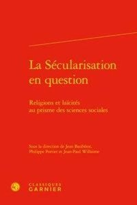 La sécularisation en question