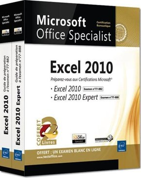 Coffret Microsoft Office Specialist - Excel 2010