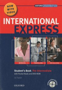 International Express Pre-Intermediate 2010 Student's pack ( student's book and DVD-ROM)