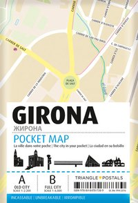 Gerone pocket map