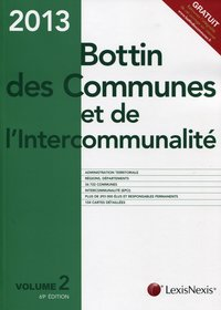 Bottin des communes et de l'intercommunalité 2013 - Volume 2