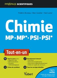 Chimie mp/mp* psi/psi* - tout-en-un