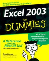 Microdoft Office Excel 2003 for dummies