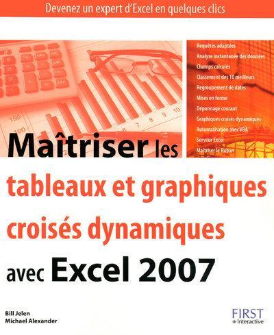 Maitriser Les Tableaux Et Graphiques Croises Dynamiques Avec Excel Librairie Eyrolles