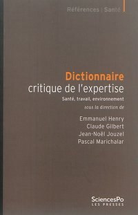 Dictionnaire critique de l'expertise