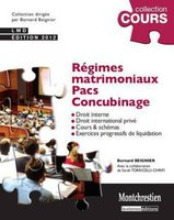Regimes matrimoniaux, PACS, concubinage (3e edition)