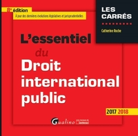L'essentiel du droit international public - 2017-2018