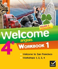 Welcome anglais 4e éd. 2013 - workbook (2 volumes)