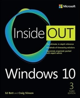 Windows 10 inside out 3ed